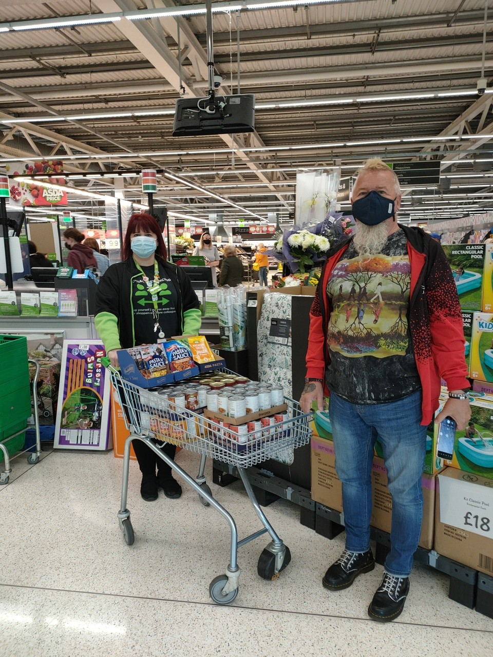 Store donation | Asda Blackwood
