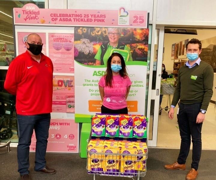 Easter egg donation | Asda Belfast Westwood