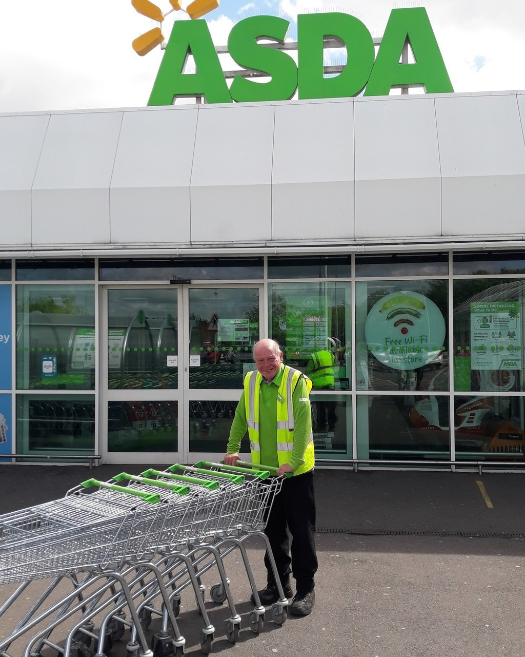Our fabulous porters | Asda Leamington Spa