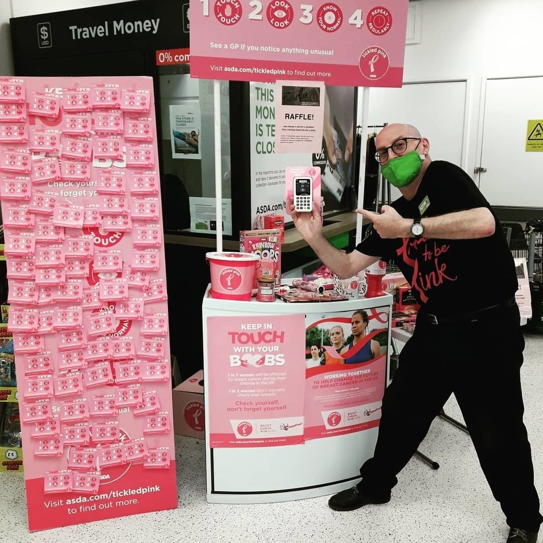 Tickled Pink at Brighton Marina | Asda Brighton Marina
