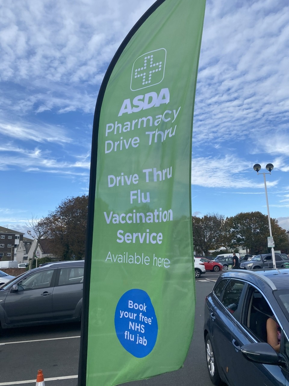 Flu jab offer | Asda Gosport