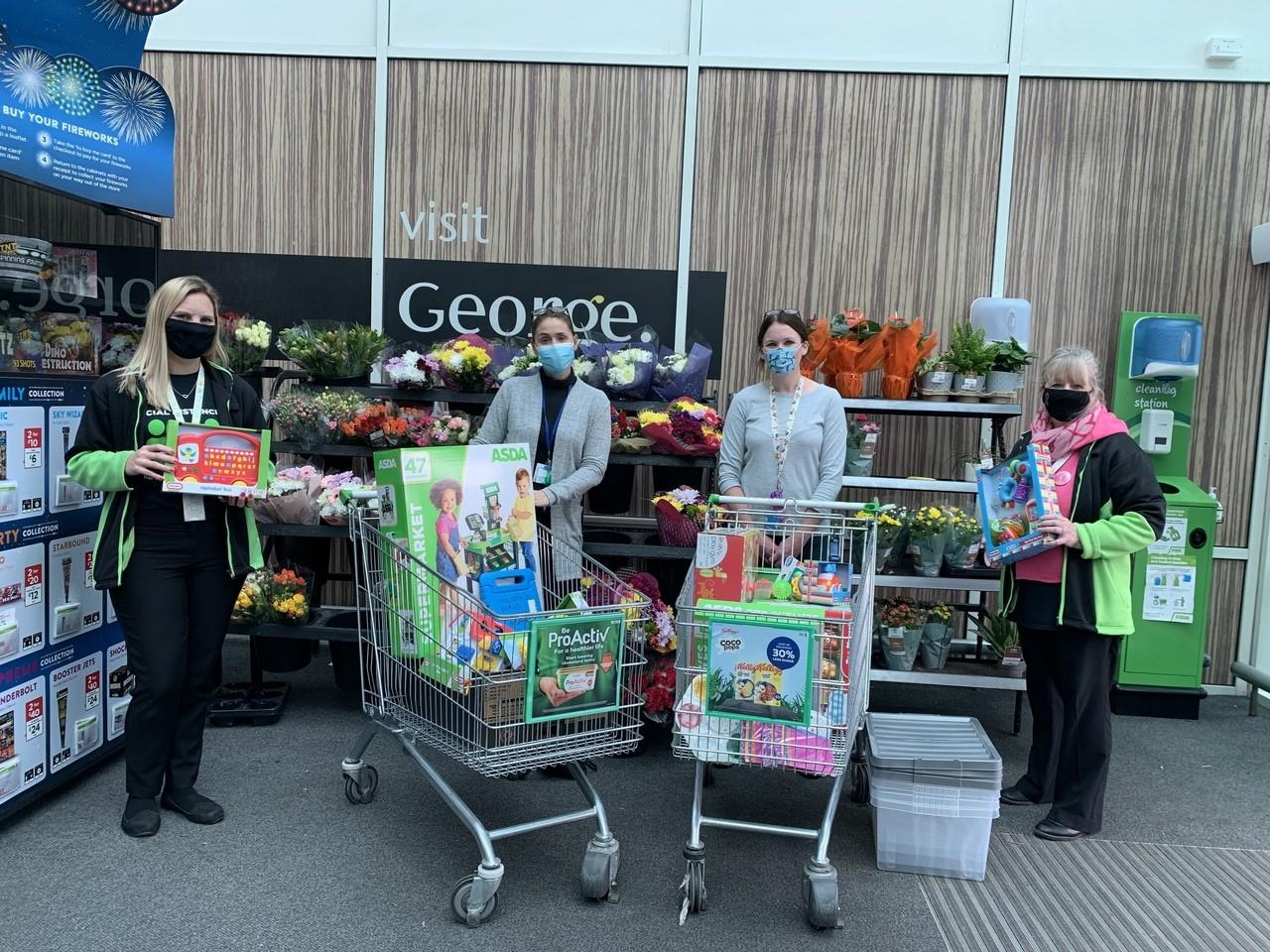 Colchester Hospital donation | Asda Clacton-on-Sea