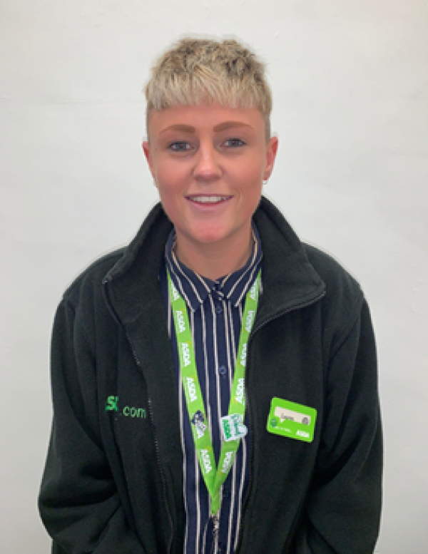 Lauren Price from Asda Leeds Home Shopping Centre