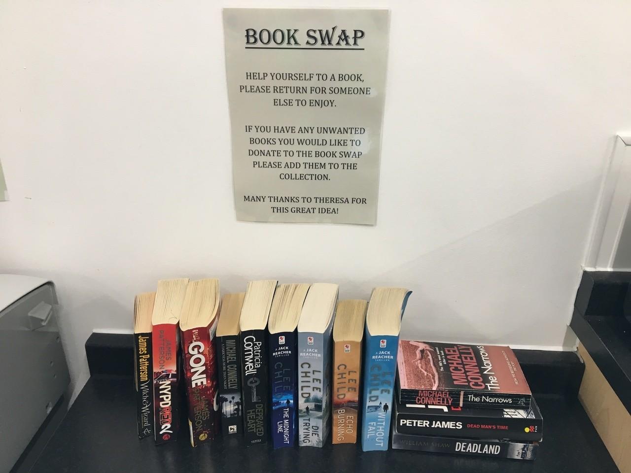 Book swap | Asda Clacton-on-Sea