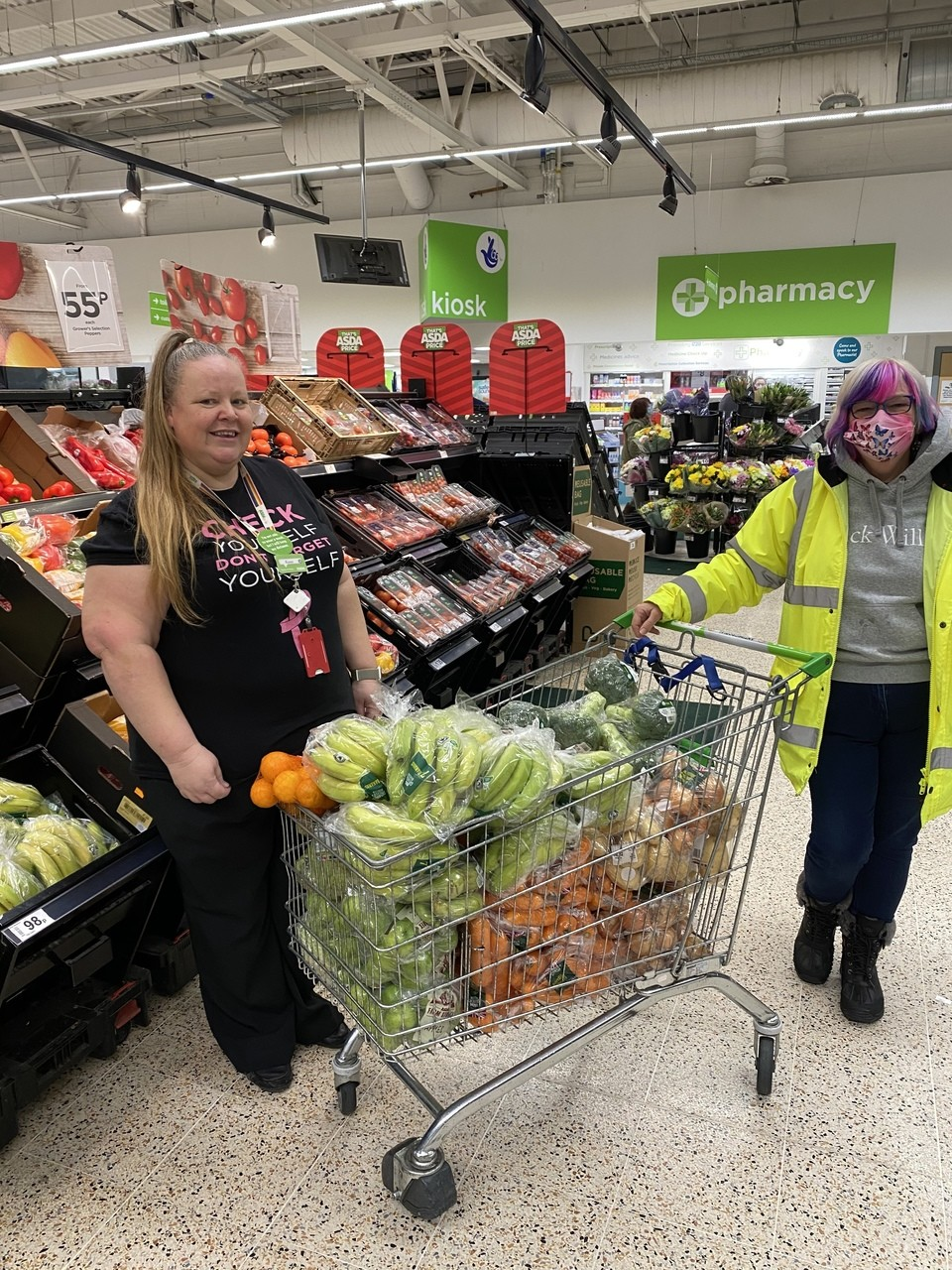Donation to Acts of Kindness | Asda Gosport