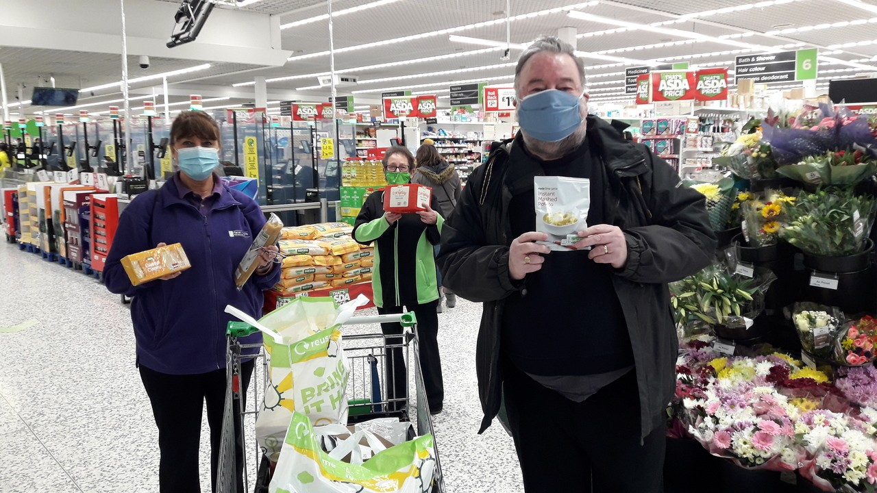 Donation to Lifeboat Project | Asda Wolverhampton