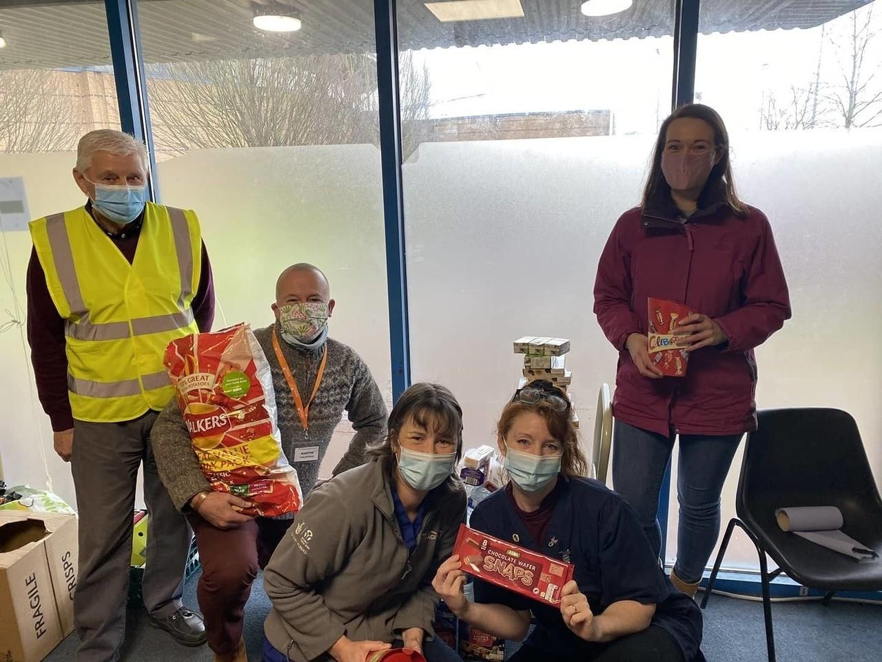 Donation to the Grantham Vaccination Centre | Asda Grantham