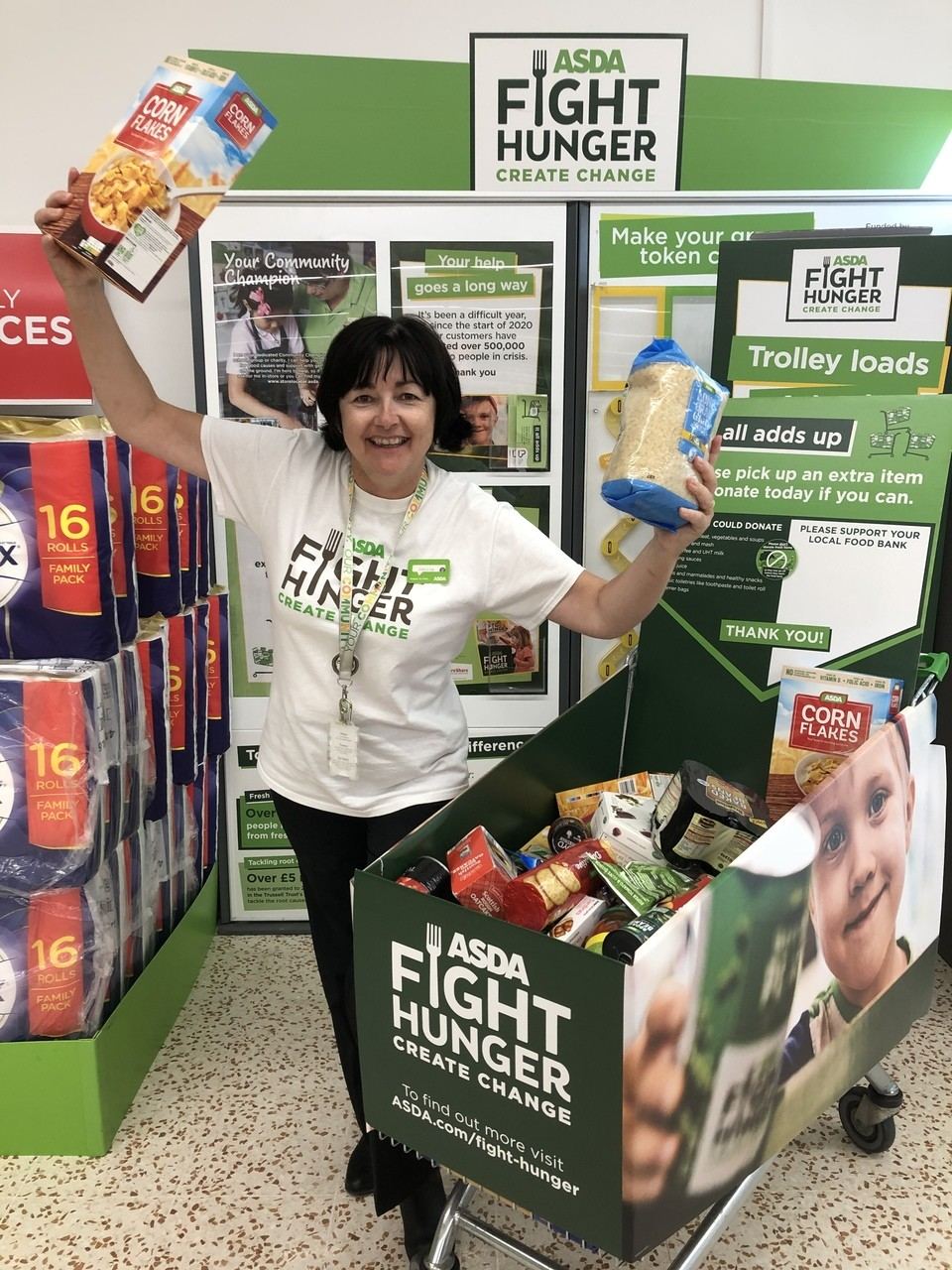 Fight Hunger support | Asda Cookstown