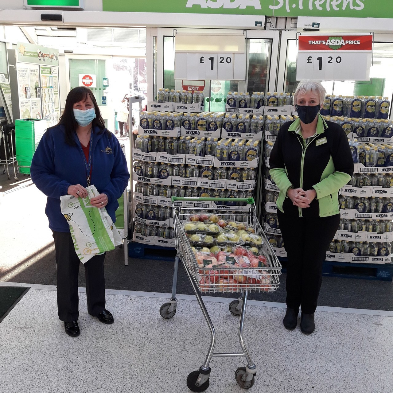 Asda St Helens supports key workers' children | Asda St Helens