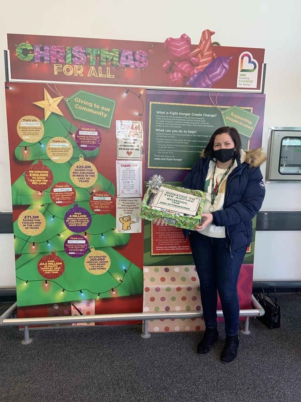 Aspire School Donation | Asda Sittingbourne