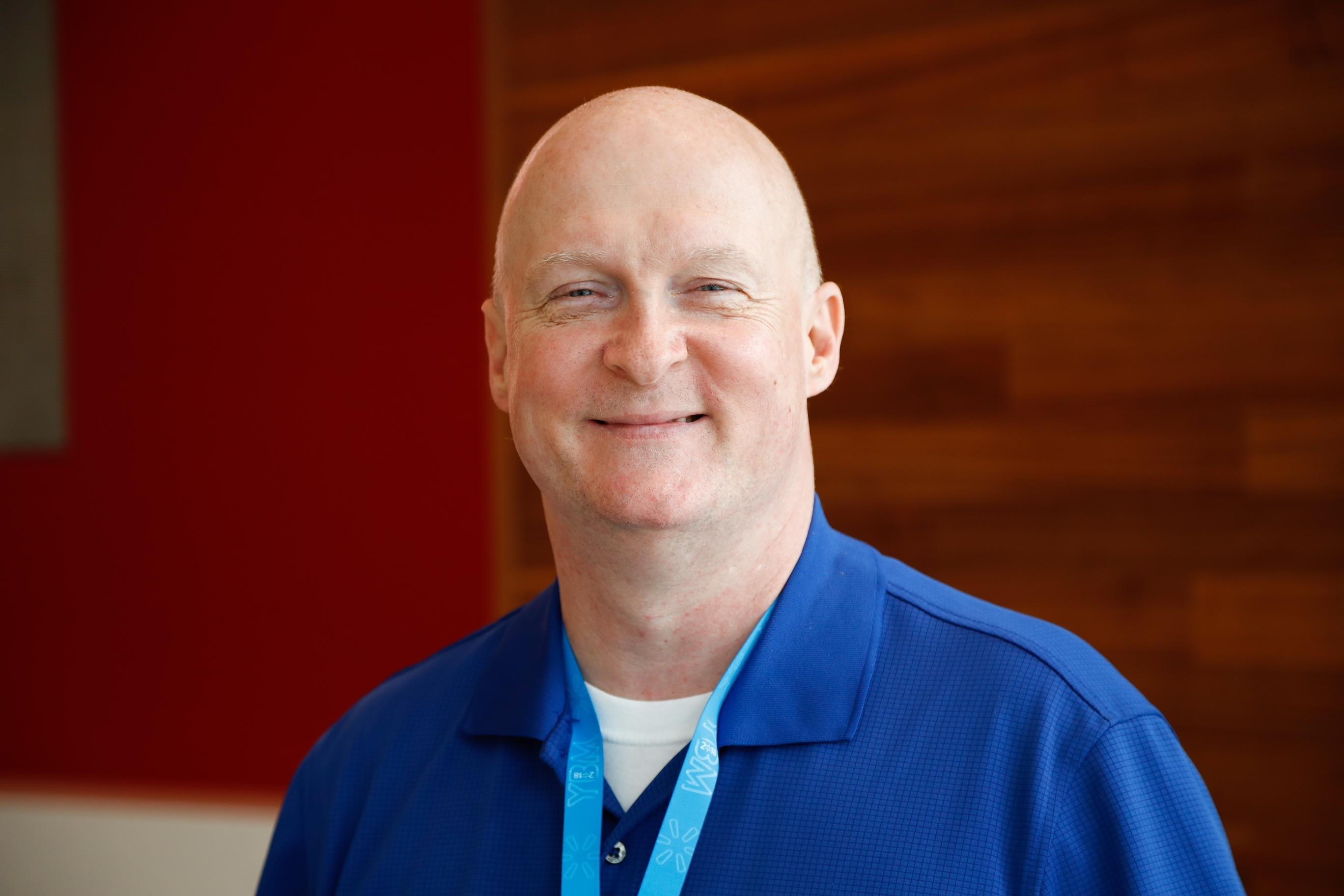 Walmart associate Todd Phillips