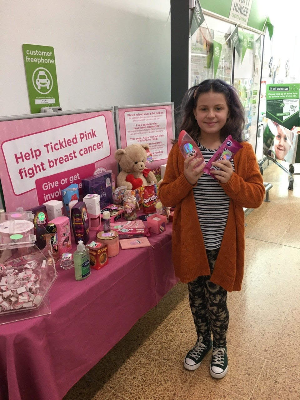 Tickled Pink at Asda Longwell Green | Asda Longwell Green