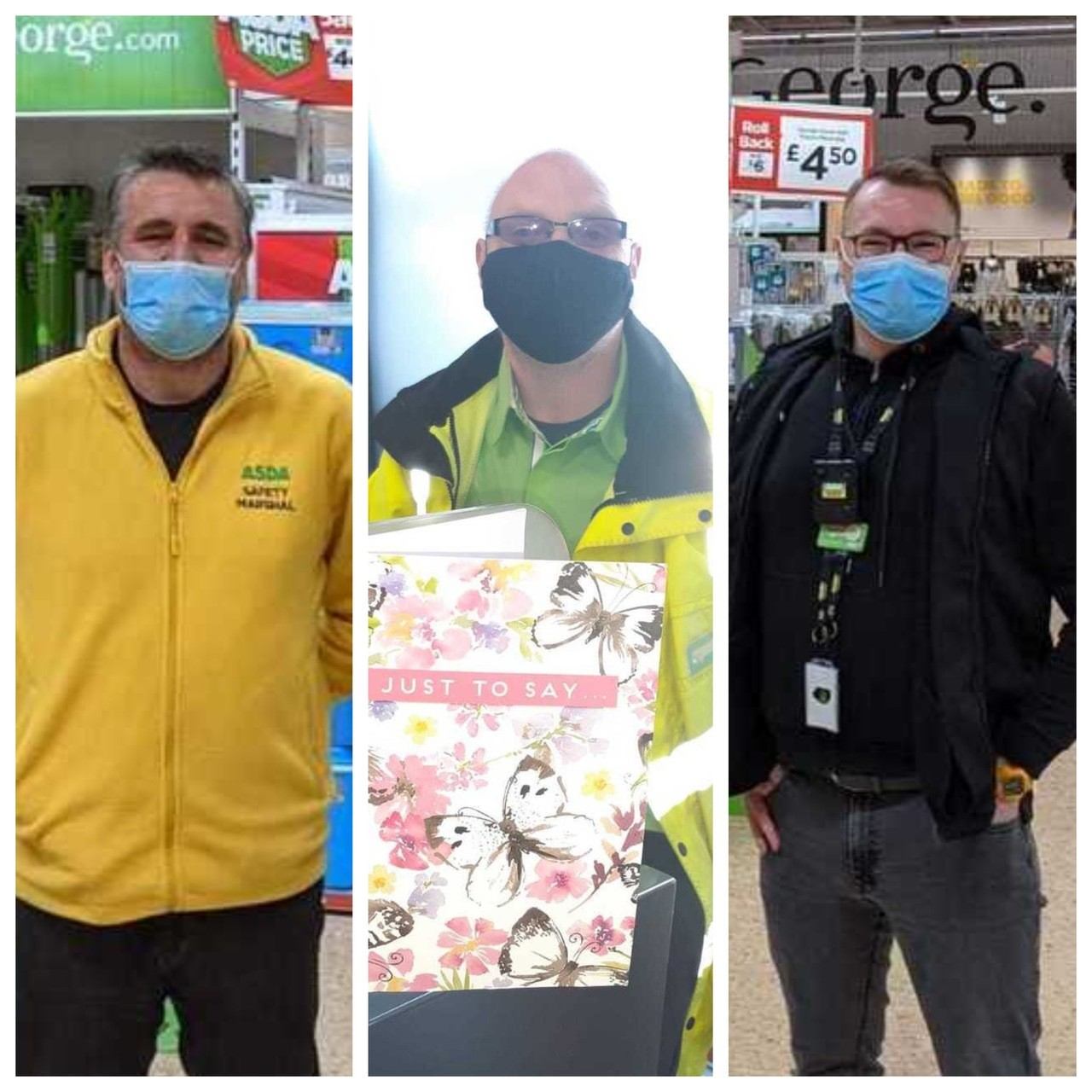 Customer thanks colleagues for helping | Asda Blantyre