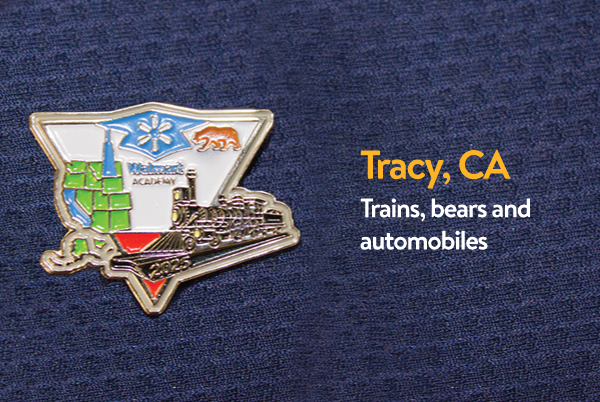 Walmart Academy Pin - Tracy, California