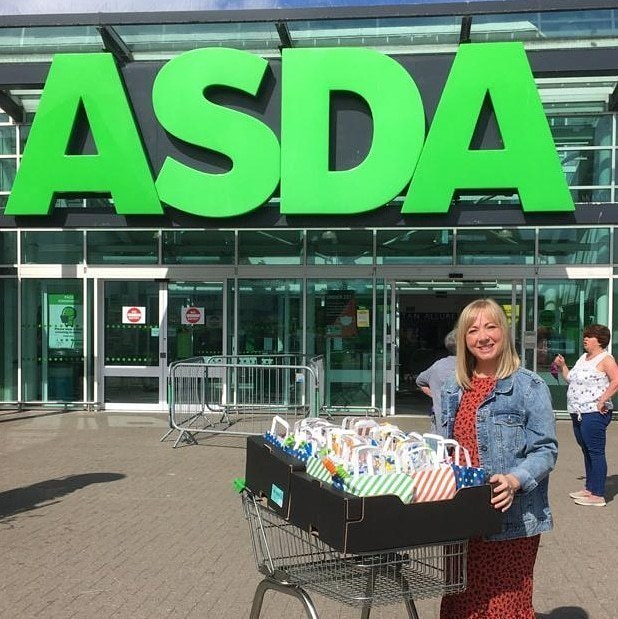 Goodie bags for Archie Foundation | Asda Dyce