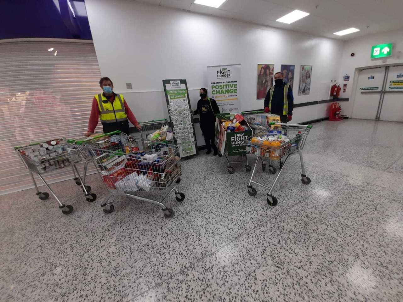 Leeds South and East Foodbank support | Asda Morley