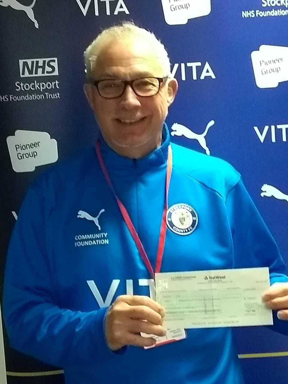 Stockport County Football Club get £300 from Asda Foundation | Asda Reddish