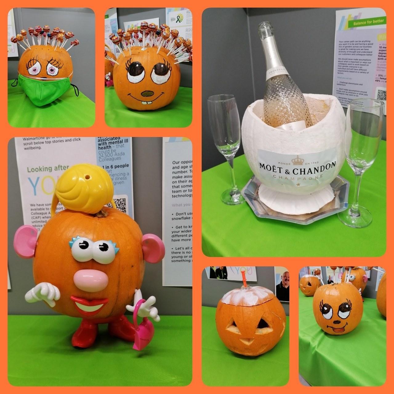 Colleague Pumpkin Competition Winner | Asda Motherwell