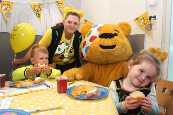 Asda Wrexham BBC Children in Need party
