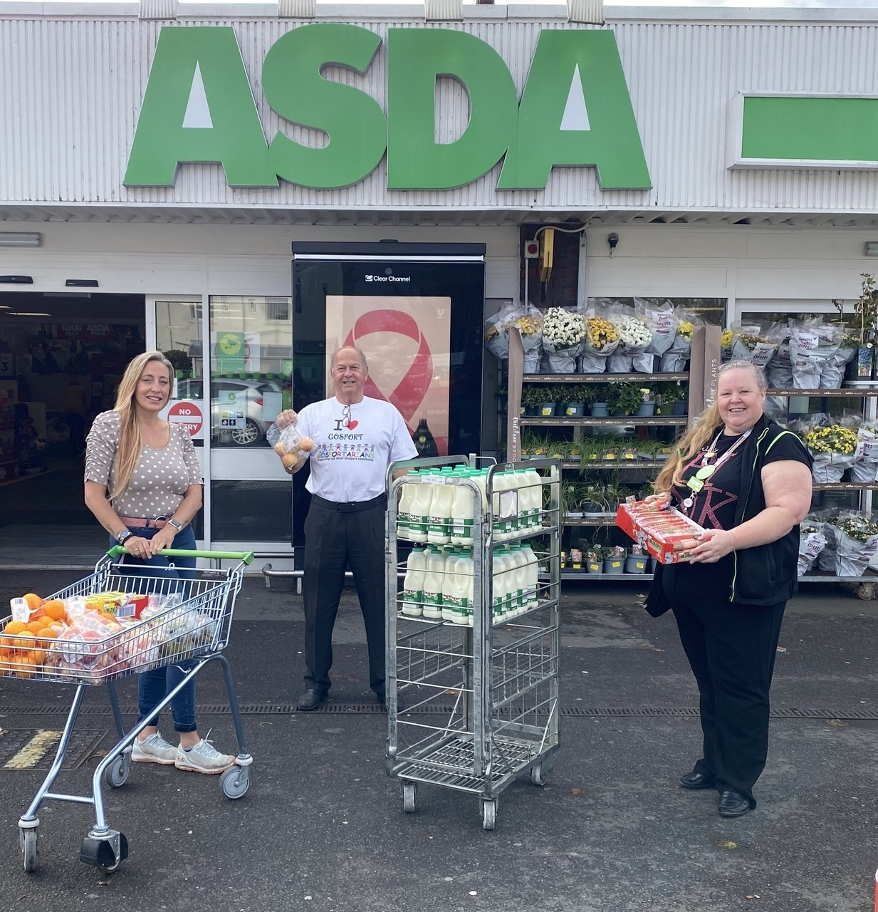 Fight hunger this half-term | Asda Gosport