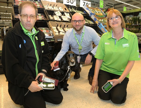 Colleagues at Asda Biggleswade