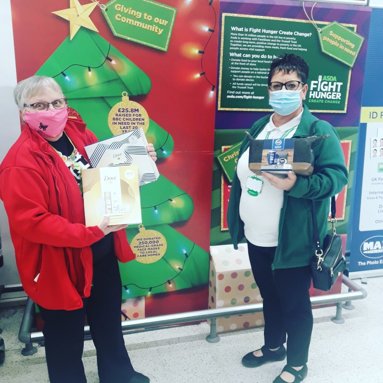 Donation to Macmillan Cancer Support | Asda Thornaby