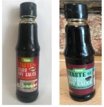 Asda Dark Soya or Light Soya Sauce