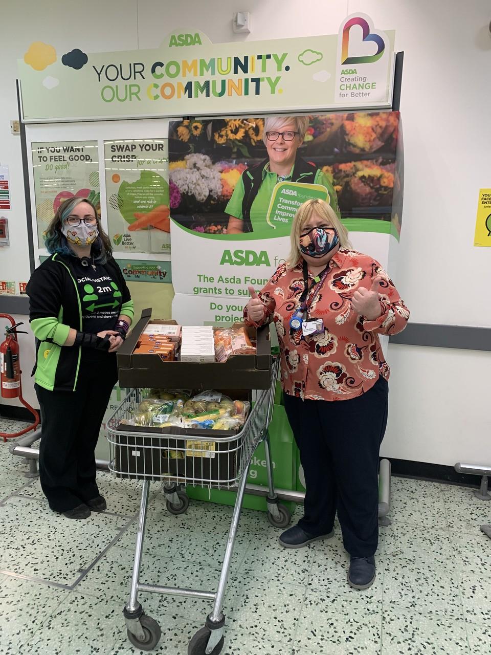 School donation | Asda Shrewsbury