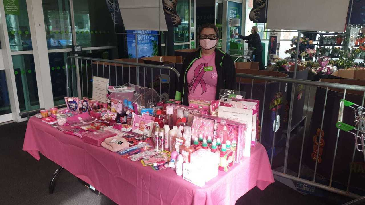 Tickled Pink tombola success  | Asda Wheatley