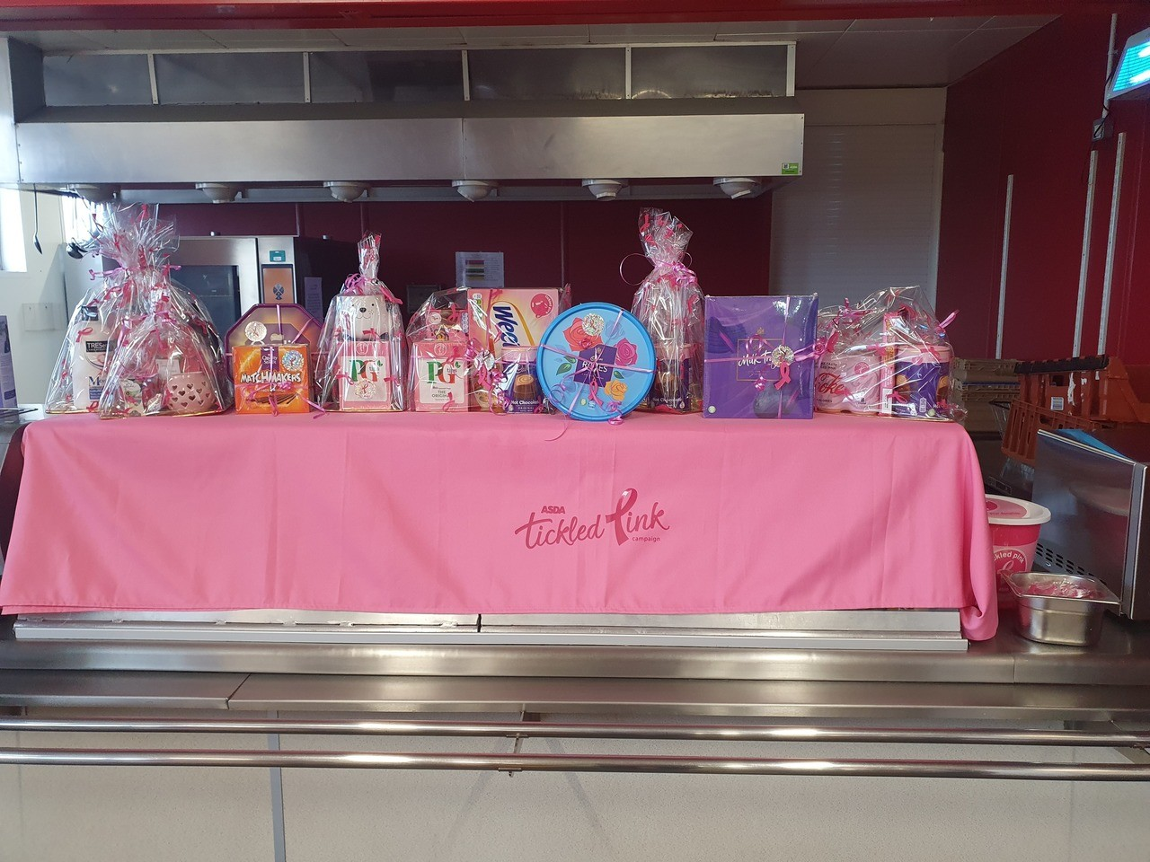 Tickled Pink raffle | Asda Brierley Hill