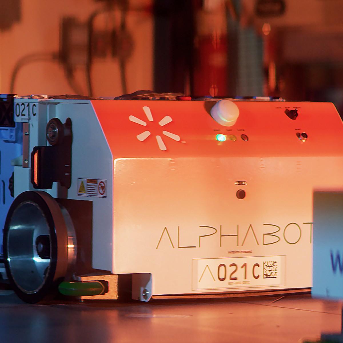 How Walmart's Alphabot Is Helping To Revolutionize Online