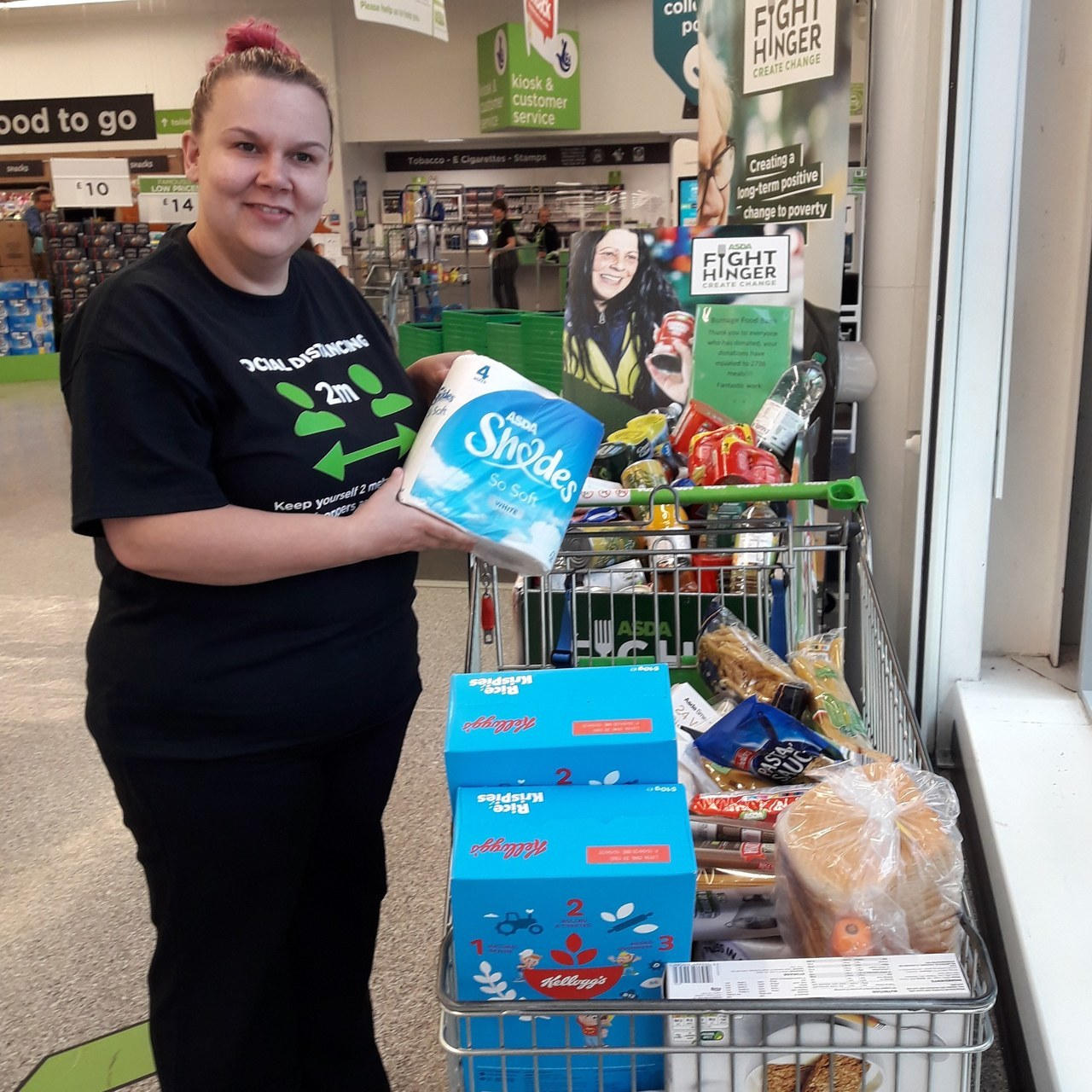 Foodbank support | Asda Reddish