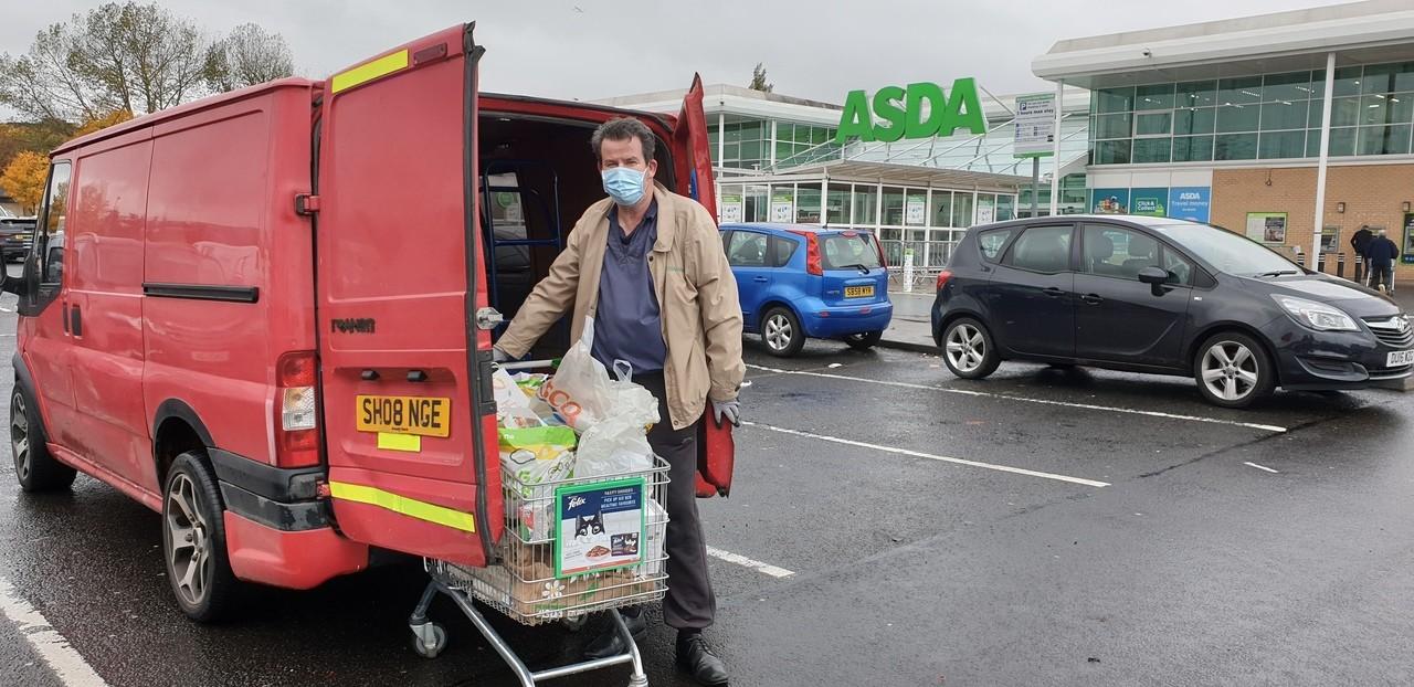 Food bank support | Asda Toryglen