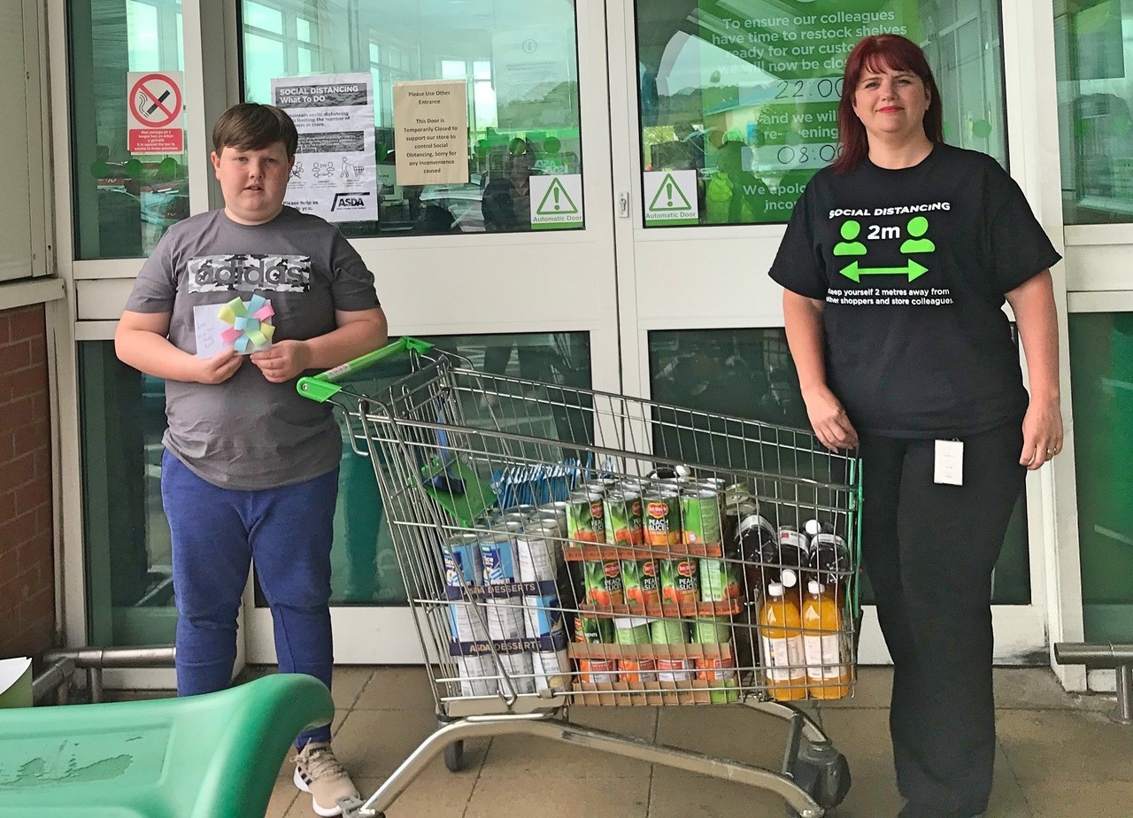 Local young hero Alfie | Asda Blackwood