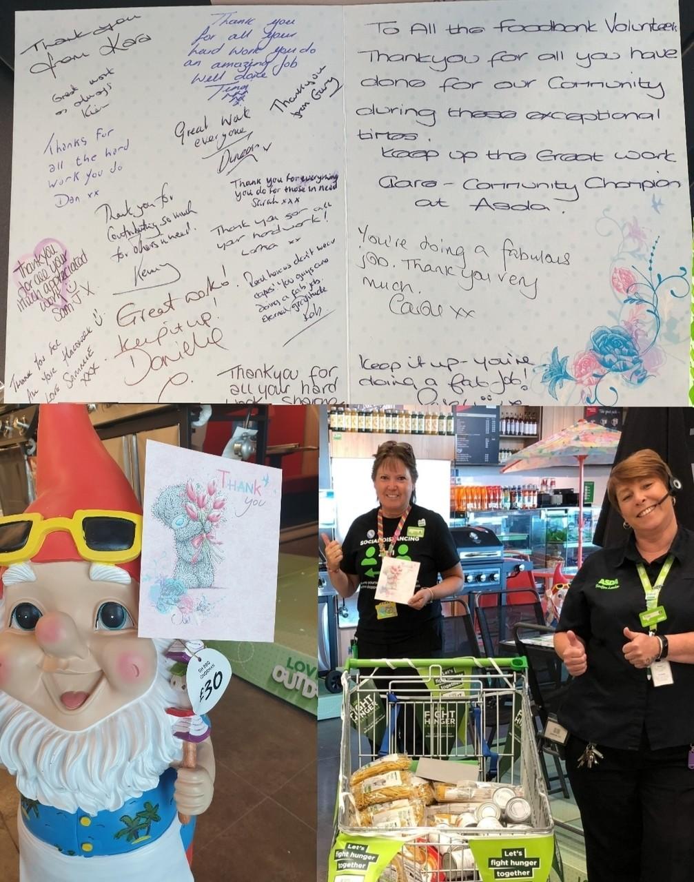 Volunteer Week thanks | Asda Newport Isle of Wight