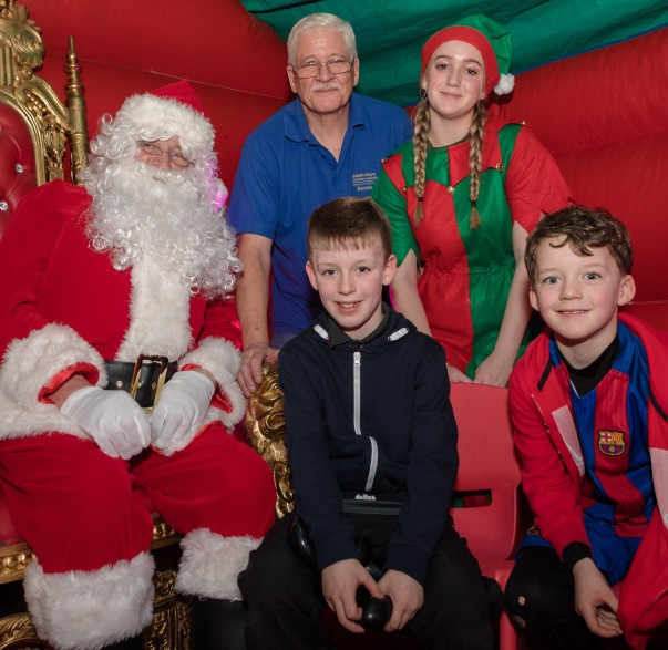 Bromborough Santa's grotto