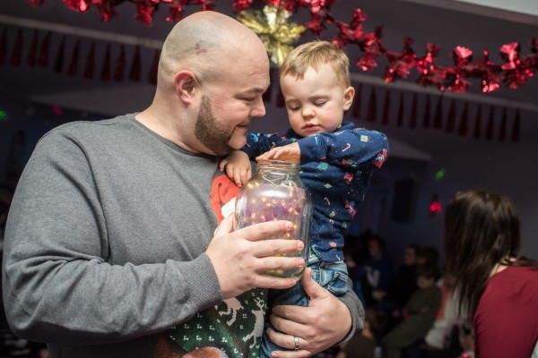 Asda Gosforth puts on surprise Christmas party for children at Hazelrigg Community Centre