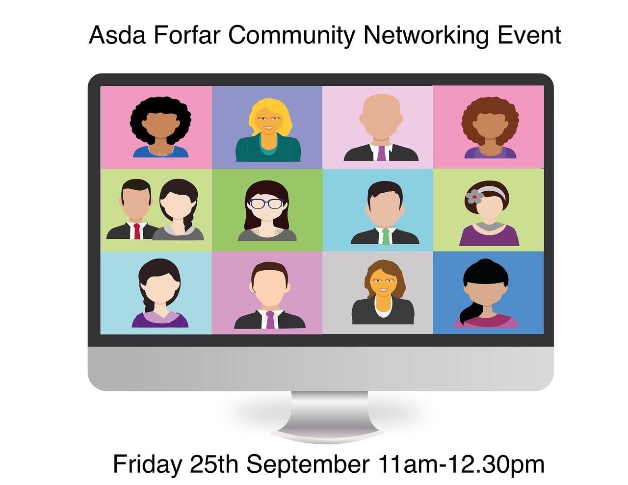 Asda Forfar Community Networking Event   Asda Forfar