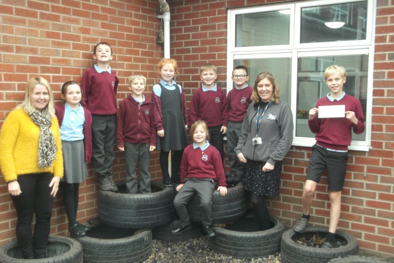 St Martins Primary After School Club receive Back to School Funding   Asda Hereford