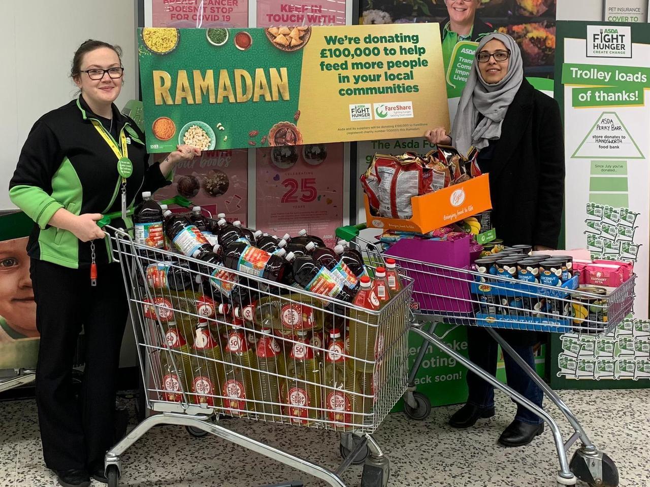 Ramadan giving | Asda Perry Barr