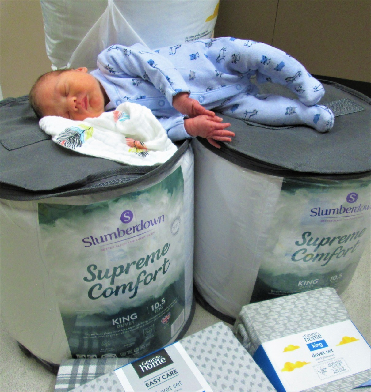 Bedding for Special Care Baby Unit | Asda Weymouth