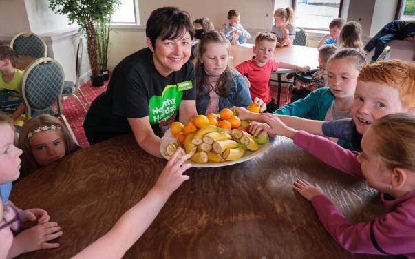 Children receive £1,000 healthy holidays Asda donation