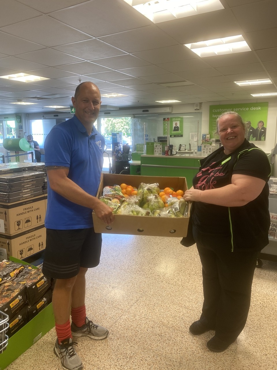 School donation | Asda Gosport