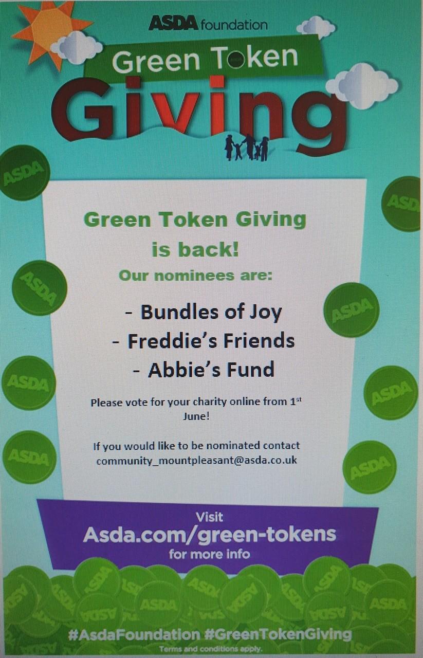 Green Token Giving | Asda Mount Pleasant