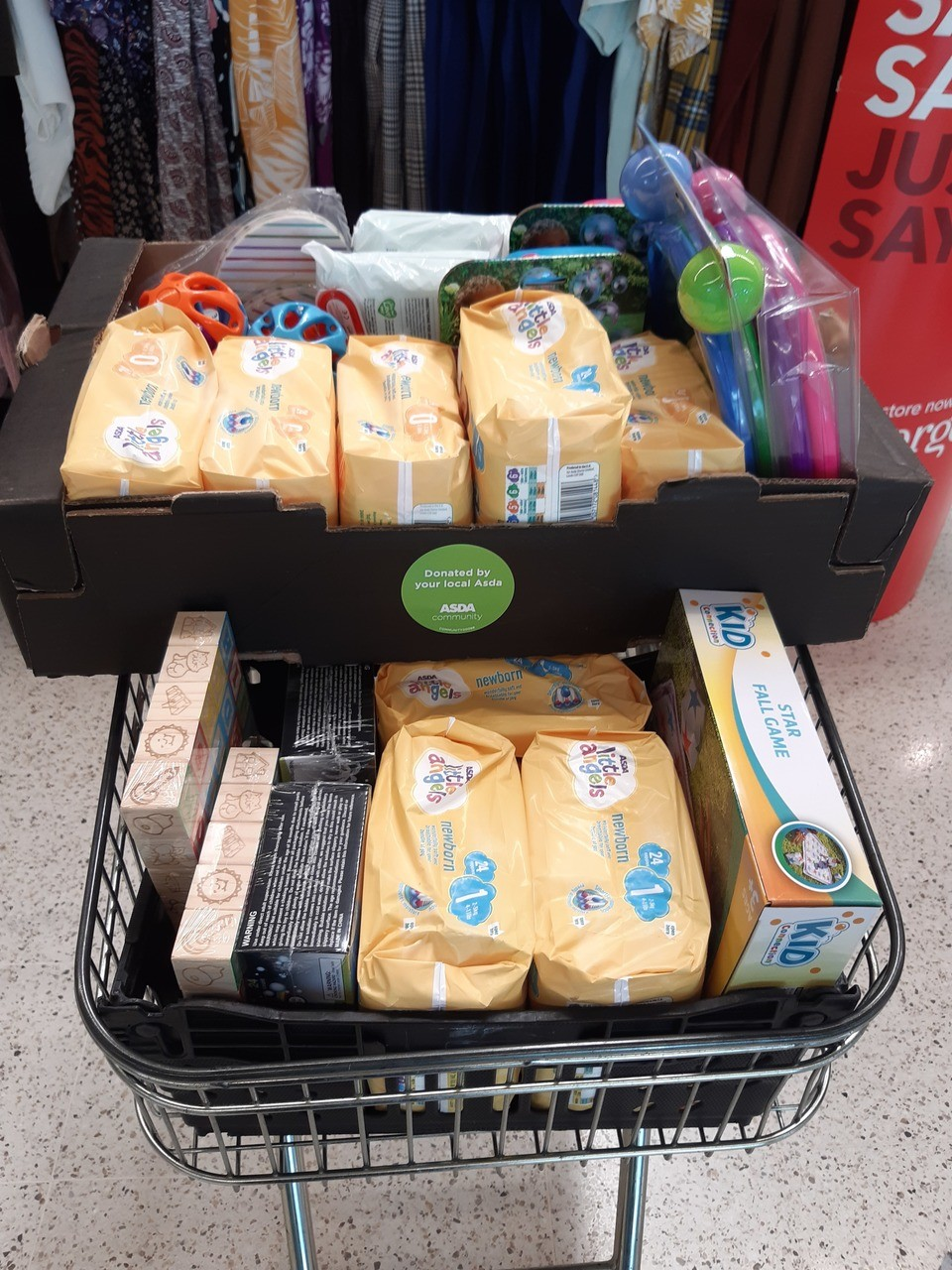 These are some of the donations we are delighted to assist with this month  | Asda Glenrothes