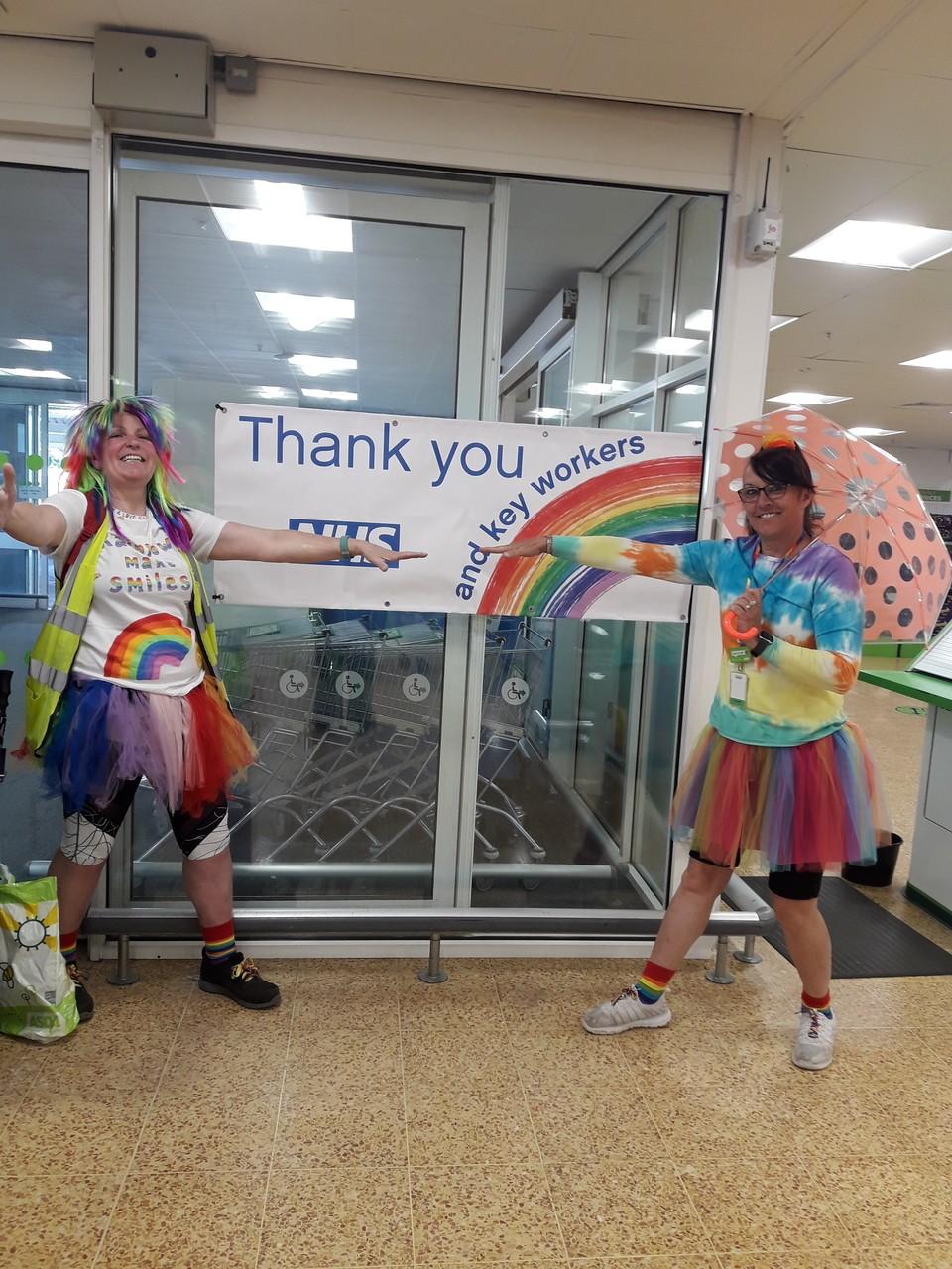 Rainbow Thursday | Asda Taunton