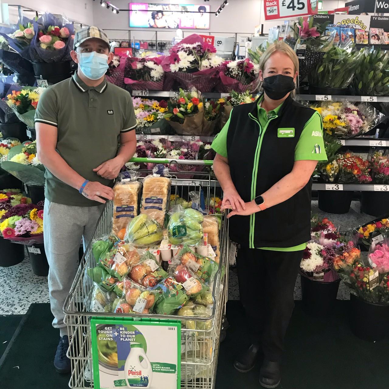 Helping the community | Asda Blackburn