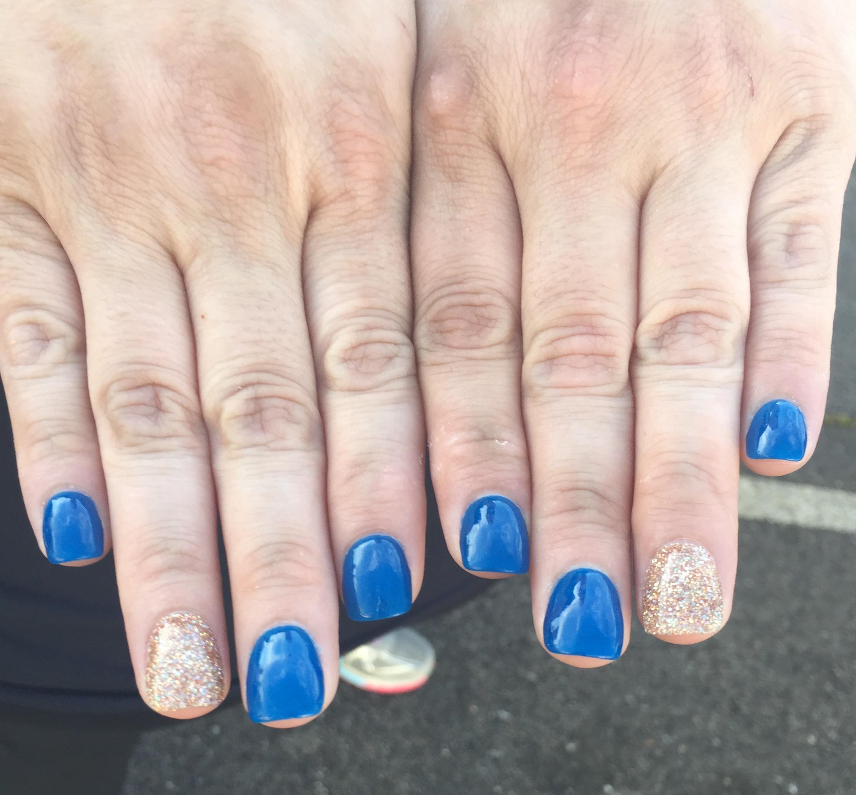 Associate Rita Wright's nail art from Shareholders 2018