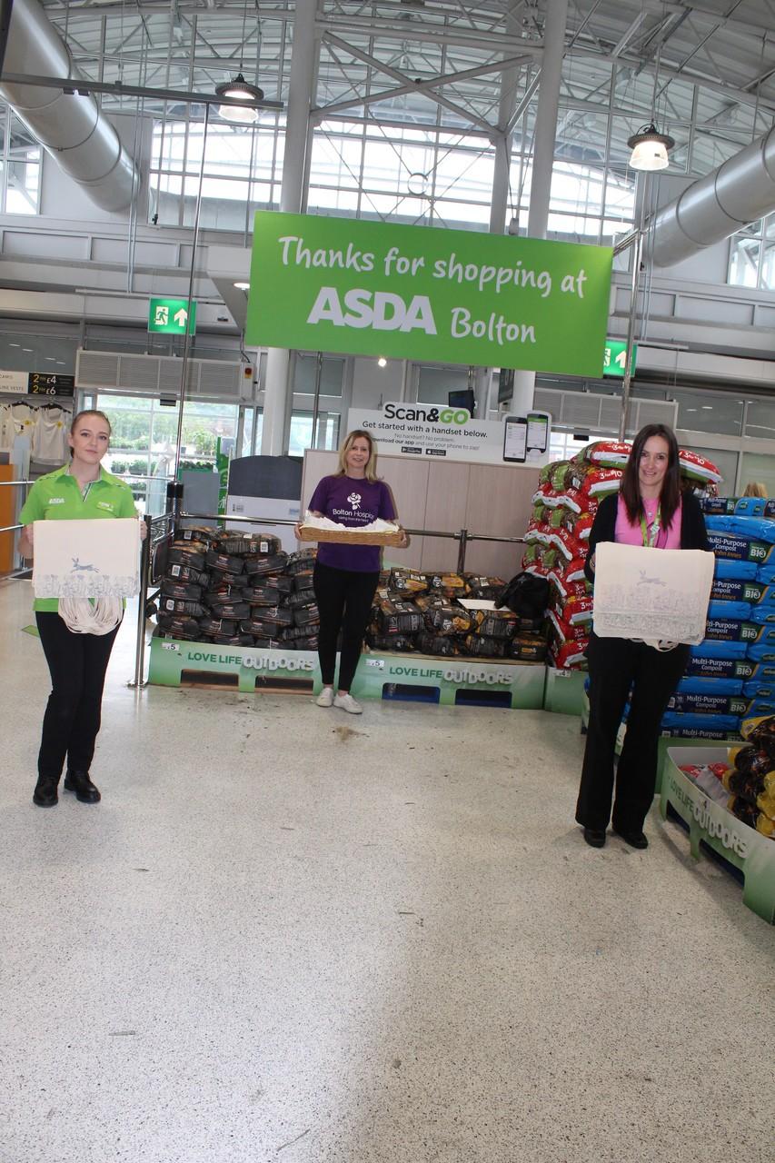 Donation to the Bolton Hospice | Asda Bolton