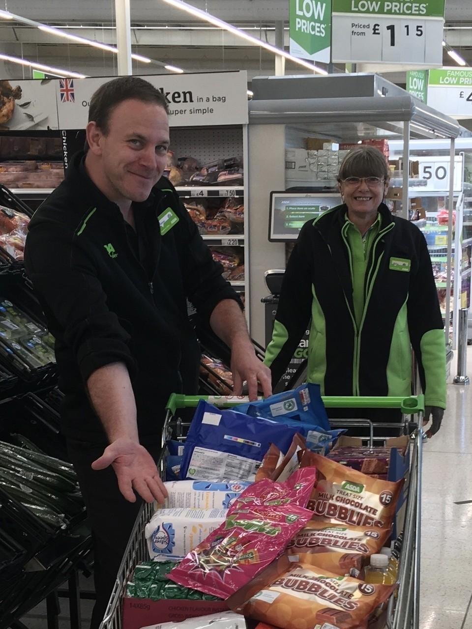 Melksham Foodbank donation | Asda Melksham